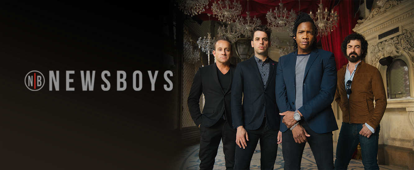Newsboys Homepage Slider